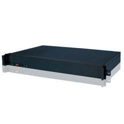 19 inch 1U rackmount IPC chassis/ barebone systme compatible with Mini-ITX M/B & Flex PSU, CLM-51-23