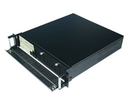 19 inch 2U rackmount IPC Chassis/ server case compatible with high-speed SATA Hard drivers, CLM-52-05