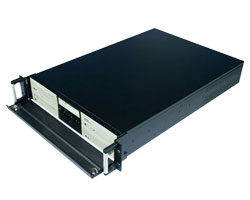 Storage Server, 19 inch 2U rackmount media chassis / storage chassis compatible with How-swap SATA Hard Driver & Redundant PSU & Server-grade Motherboard, CLM-52-07