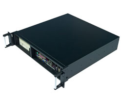 Front I/O output, 19 inch 2U rackmount Server Chassis / IPC chassis compatible with Micro-ATX M/B & ATX PSU, CLM-52-08