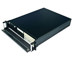 19 inch 2U rackmount IPC chassis / server case compatible with ATX PSU & ATX M/B & Hot-swap SATA Hard Driver, CLM-52-09