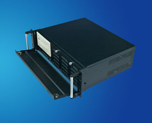 3U short case, 19 inch 3U rackmount server case/ chassis compatible with Micor-ATX M/B, CLM-53-06