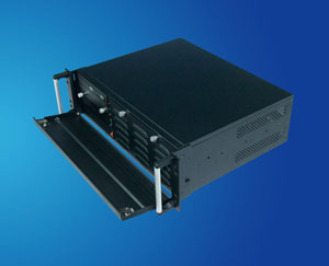 3U short case, 19 inch 3U rackmount server case/ chassis compatible with Micor-ATX M/B with short depth & ATX PSU, CLM-53-07