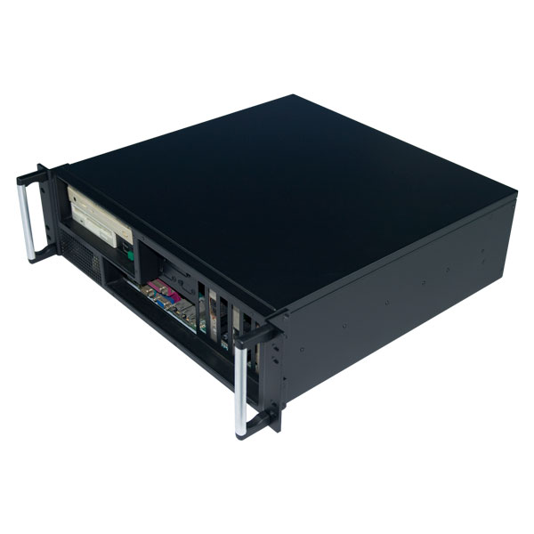 3U Rackmount server chassis/ IPC Chassis with the front I/O output