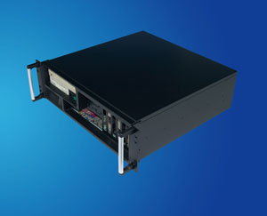 Front I/O output 3U small server workstation, 19 inch 3U rackmount server case/ chassis compatible with EATX serverboard, CLM-53-08