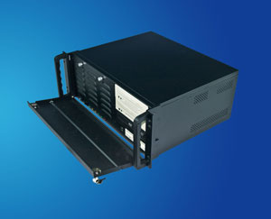 short 19 inch 4U Rackmount IPC Chassis/ Server Case compatible with ATX and shorter case, CLM-54-03