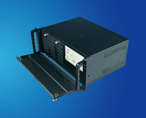 short 19 inch 4U Rackmount IPC Chassis / server chassis compatible with Micro-ATX motherboard and shorter case, CLM-54-04
