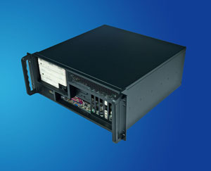 Front I/O output 19 inch 4U rackmount IPC case / server chassis, such as IPC-7120 & IPC-5120, CLM-54-05