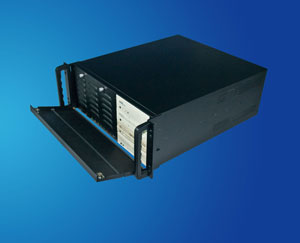 19 inch 4U rackmount IPC case / server chassis compatible with many SATA disks, CLM-54-08