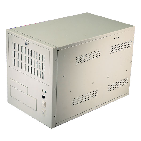 Compact rackmount chassis/ PICMG x8 slots