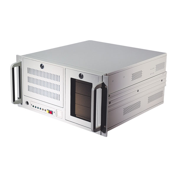 5U rackmount IPC chassis / server case with effective ventilation function