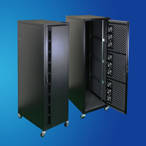 "1"" Sound-proof Server Rack/ Network Cabinet, like office funiture"
