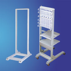 "19"" One frame Open Rack for Telecom Cable Appliances"