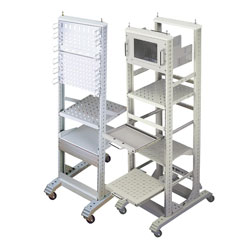 rack,rack,cabinet,open frame,without door,19inch,castor
