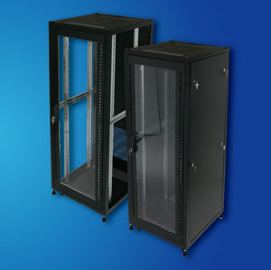 "Cost-effective 19"" standing steel Server Rack/ Network Cabinet"