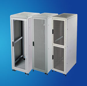 "19"" standing Aluminium Server Rack/ Network Cabinet"